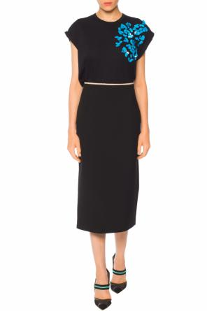 Cut-out pencil skirt od N21