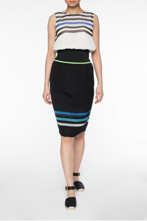 Skirt with stripes od Diesel