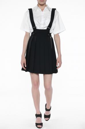 Pleated skirt with suspenders od Diesel Black Gold