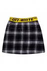 Off-White Kids Checked skirt