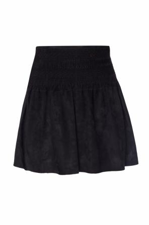 Short suede skirt od Diesel Black Gold