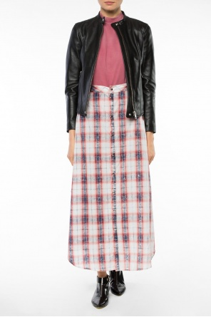 Long checked skirt od Diesel Black Gold