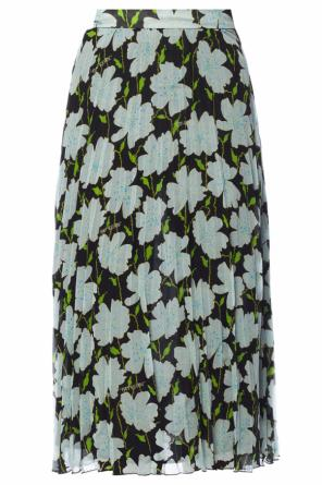 Floral motif pleated skirt od Off White