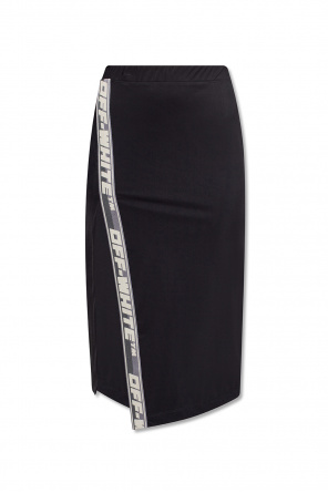 Skirt with logo od Off-White