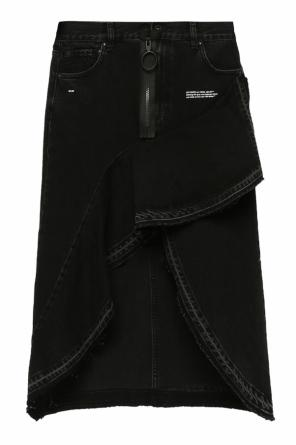 Asymmetrical denim skirt od Off White