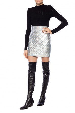 Quilted skirt od Balmain