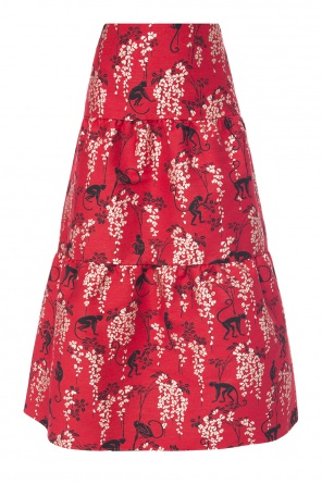 Patterned skirt od Valentino Red