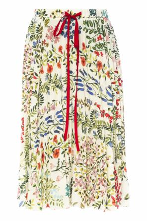 Patterned pleated skirt od Valentino Red