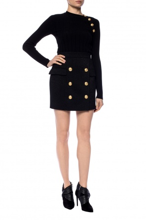 High-waisted short skirt od Balmain