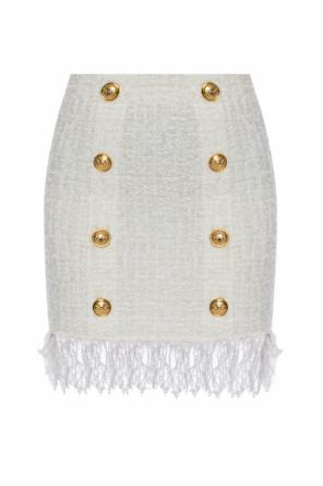 Fringed skirt od Balmain