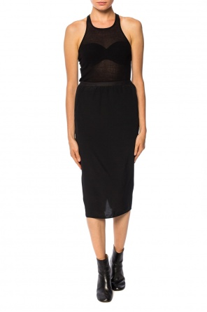 Cut-out skirt od Rick Owens
