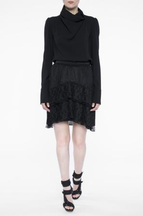 Pleated lace skirt od Just Cavalli