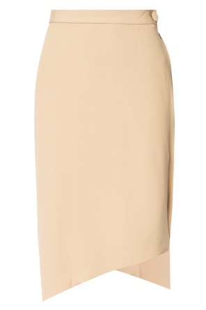 Asymmetrical skirt with crinkles od Vivienne Westwood