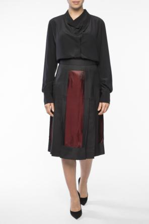 Raw-trimmed skirt od Maison Margiela
