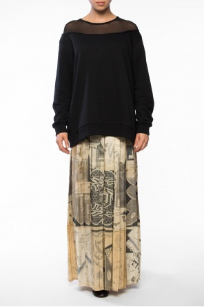 Long pleated skirt od Maison Margiela