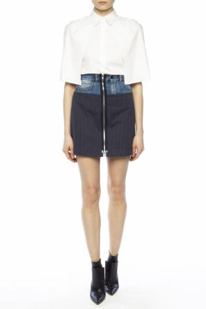 Short striped skirt od Maison Margiela