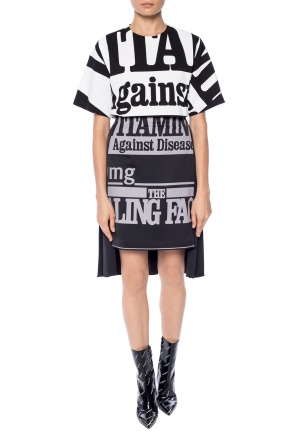 Asymmetrical pleated skirt od Maison Margiela
