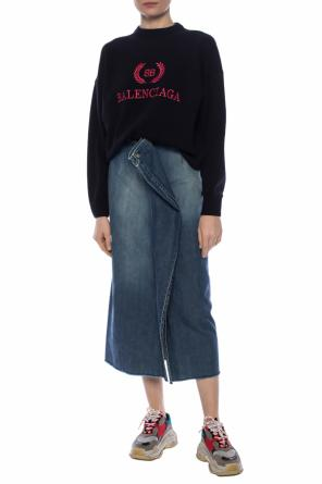 Split denim skirt od MM6 Maison Margiela