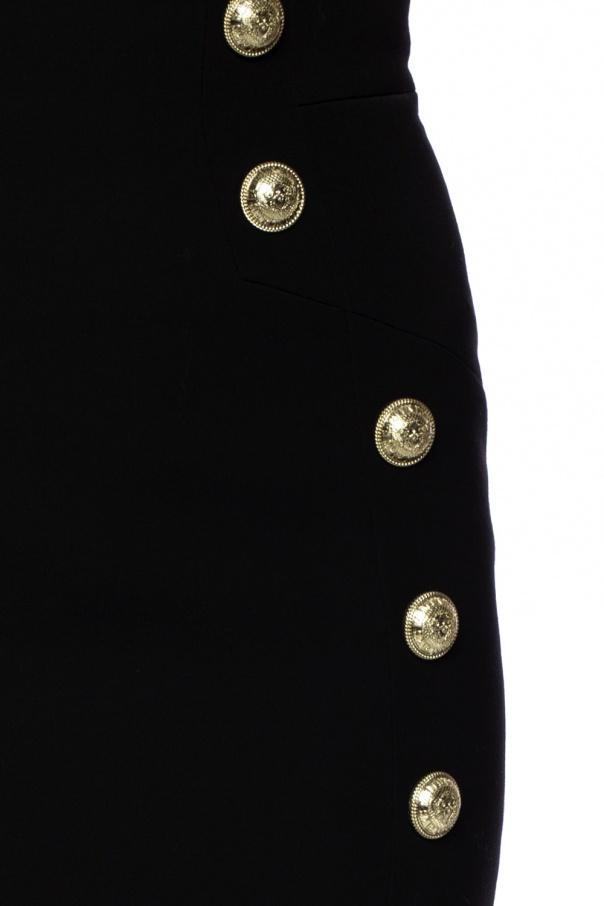 Wool skirt od Balmain