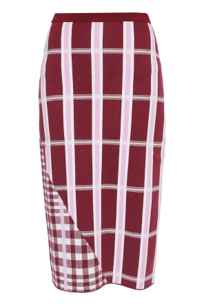 Checked skirt od Victoria Beckham