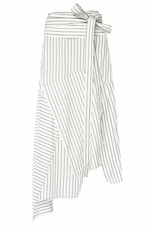 Pinstriped flared dress od J.W. Anderson