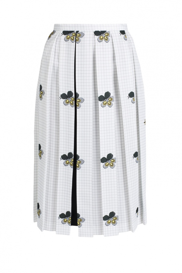 285622466 Patterned pleated skirt Victoria Beckham - Vitkac shop online