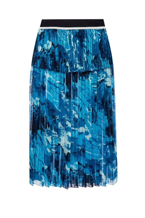 a9f0ff741 Printed pleated skirt Victoria Victoria Beckham - Vitkac shop online