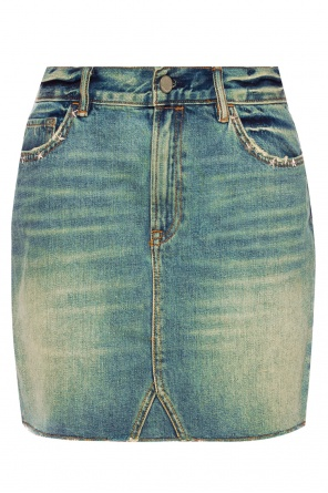 'star' denim skirt od AllSaints