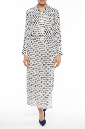 Pleated polka dot skirt od Diane Von Furstenberg