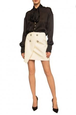 Asymmetrical skirt od Balmain