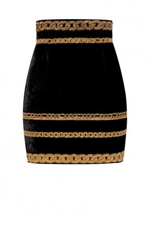 Velvet skirt od Balmain