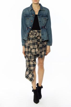 Lace-up shirt-skirt od Faith Connexion