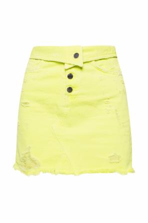 Skirt with holes od Amiri