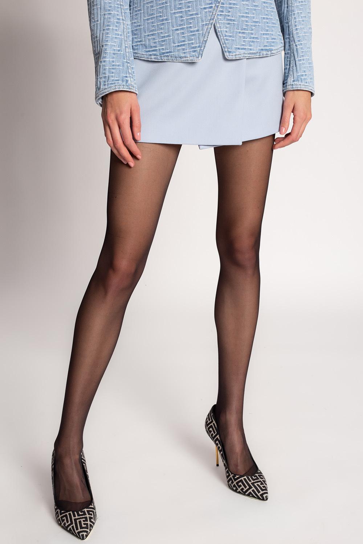 Balmain Short skirt with logo