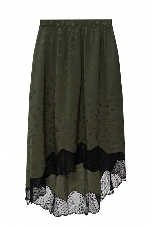 Zadig & Voltaire Asymmetric skirt