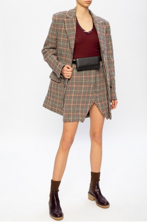 Houndstooth check skirt od Zadig & Voltaire