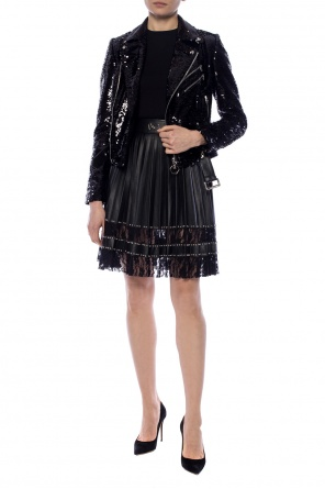 Pleated skirt with logo od Philipp Plein