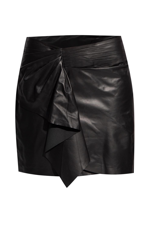 Iro Leather skirt
