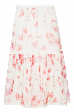 Floral motif pleated skirt od Emporio Armani