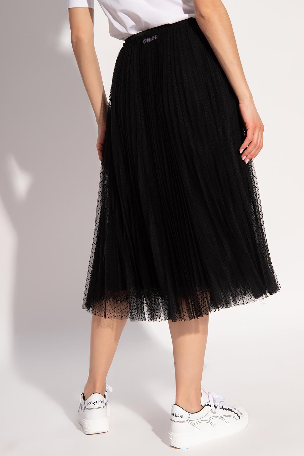 Red Valentino Tulle skirt
