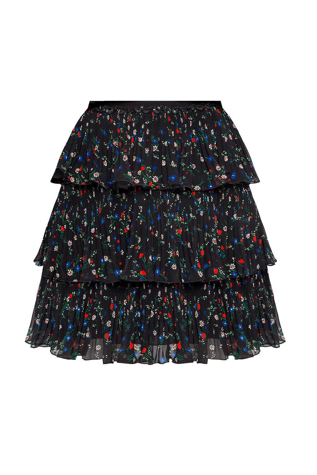 Red Valentino Ruffled skirt
