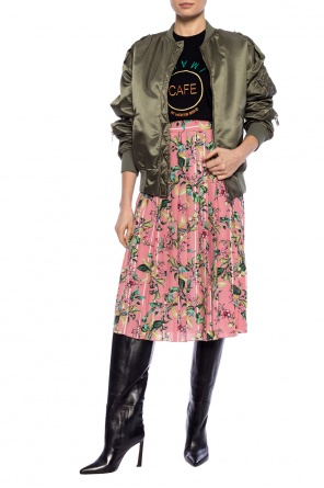 Floral motif skirt od Vetements