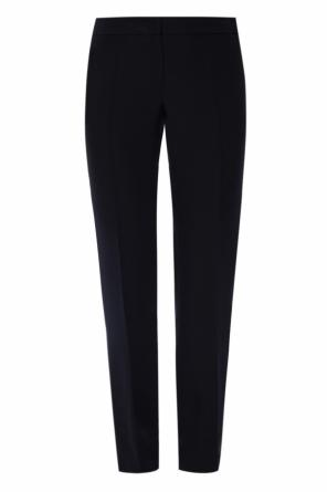 Pleat-front trousers od Emporio Armani