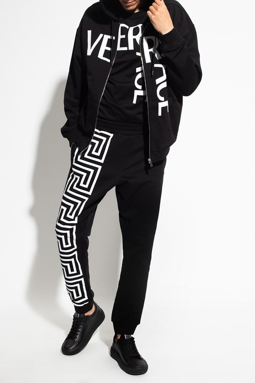 Versace Sweatpants with Greek pattern