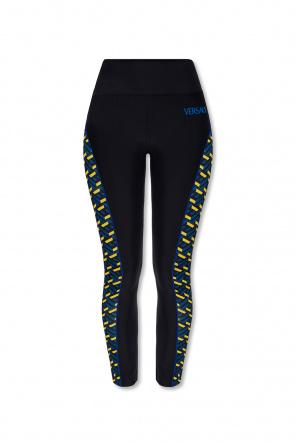 Leggings with logo od Versace