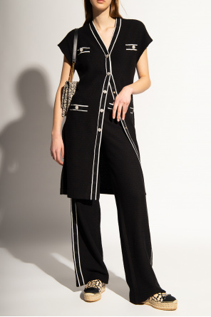 High-waisted trousers od Salvatore Ferragamo