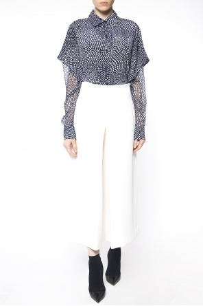 Cropped flared trousers od Diane Von Furstenberg