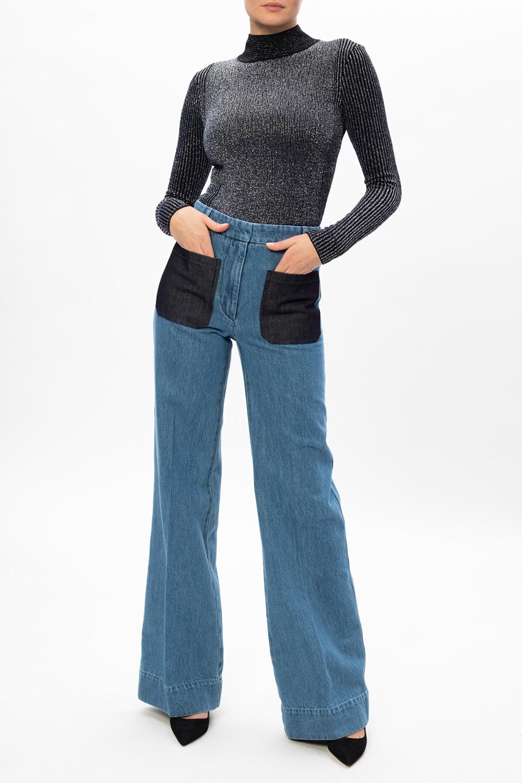 Victoria Beckham Jeansy z kieszeniami
