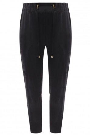 Silk trousers od Balmain
