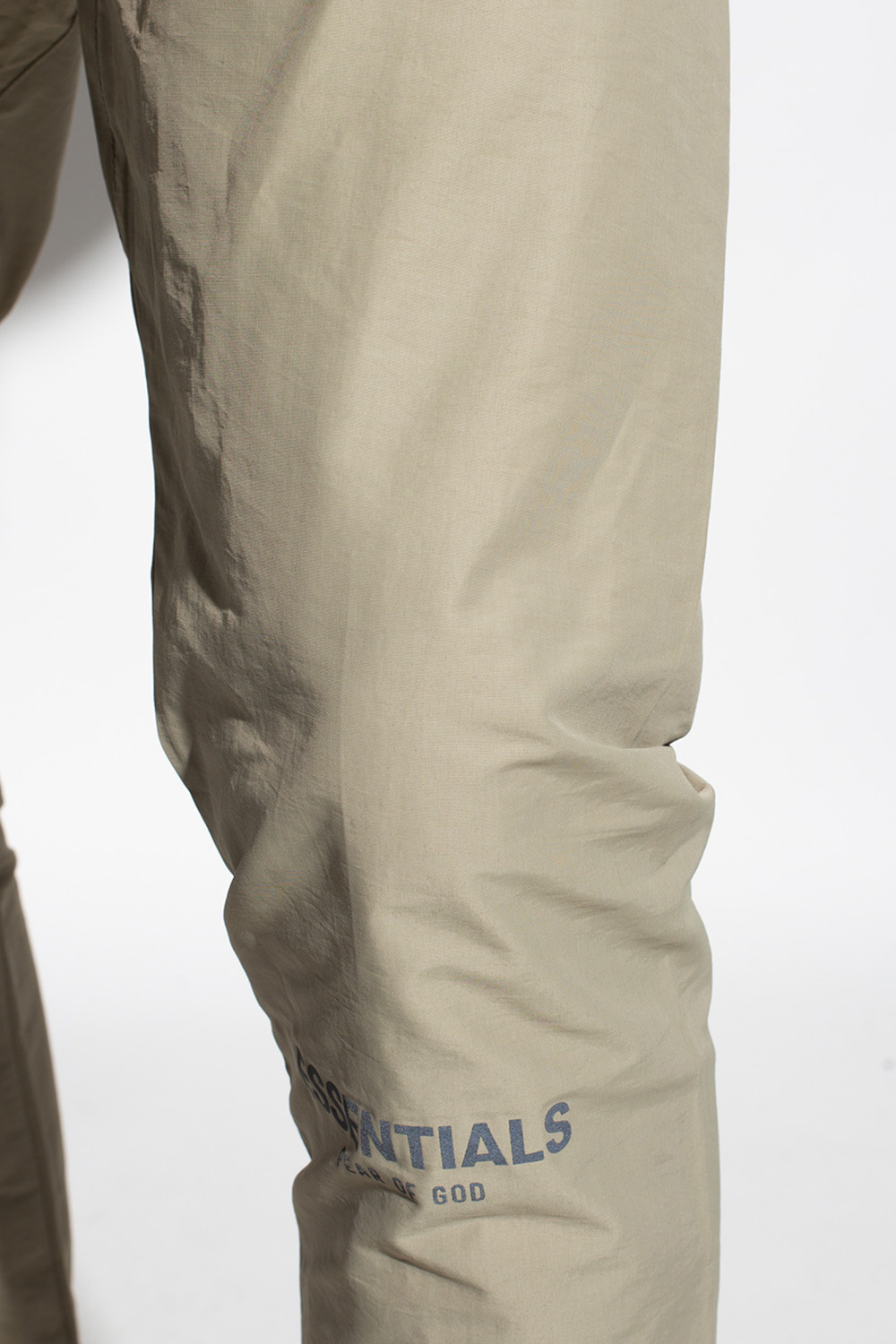Fear Of God Essentials Logo-patched trousers